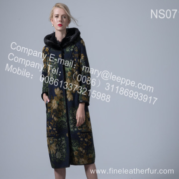 Reversible Merino Shearling Overcoat