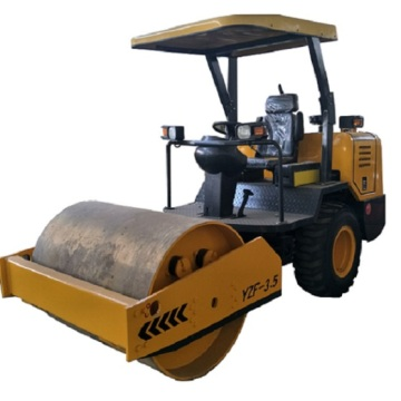 3.5 Ton hydraulic single drum vibrator road roller