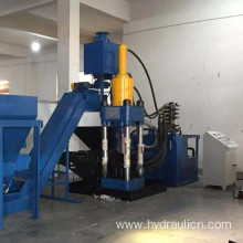 Hot Sale Aluminum Chips Scrap Briquetting Press