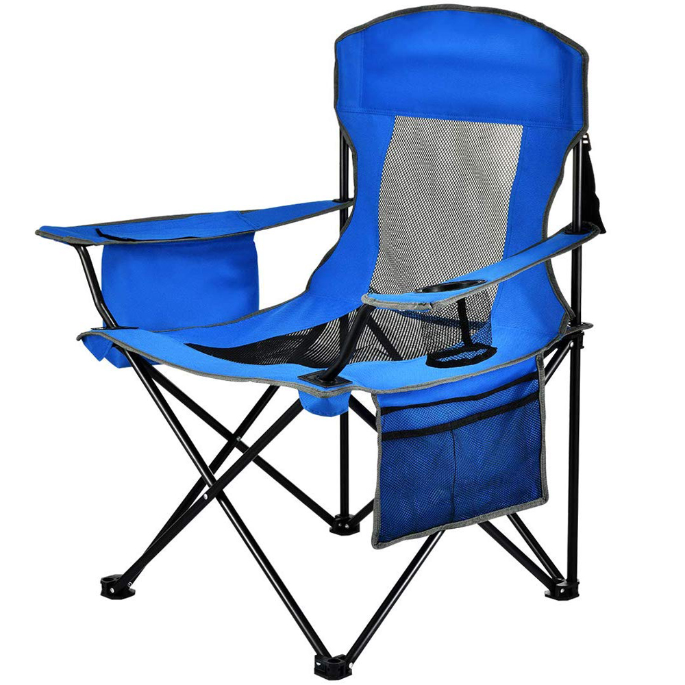 Camping Seat With Storage Pockets