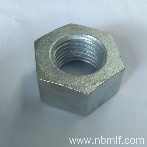 Galvanized DIN934 Hex Nut Grade 6 8 10