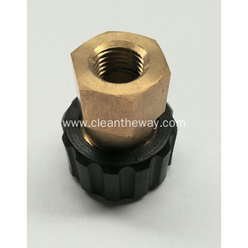 "Pressure Washer M22 Male x 1/4"" NPT Female Fitting"
