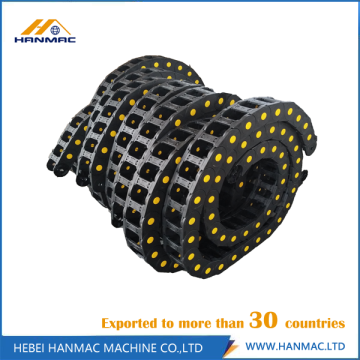 Nylon Cable Protecting Roller Drag Chain CNC Machine
