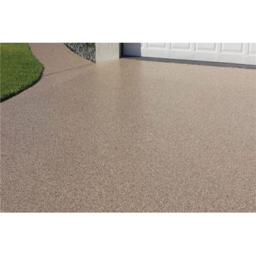 Water permeable concrete floor