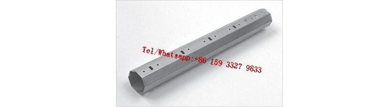 PU Shutter Door Octagon Pipe