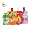 Baby Food Aluminium Packaging Bag With Spout