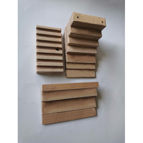 Transformer Laminated Wood Stepped Blocks
