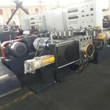 Double screw extruder granulation machine