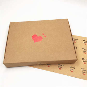 handbag packaging box heart packaging box