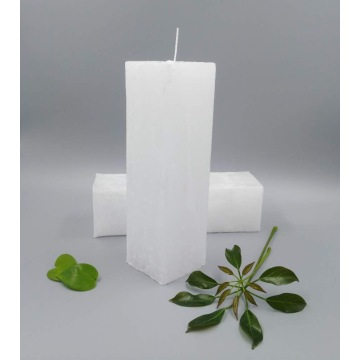 Square Candles with wick