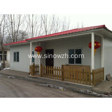 Prefab Homes Install by Sandwich Panel