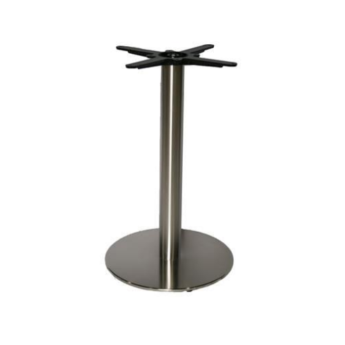 DIA400MM round plate table base stainless steel