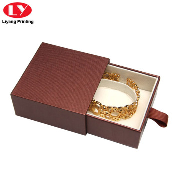 Drawer jewelry Box for Bracelet Packaging