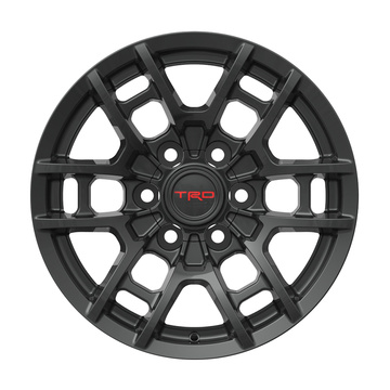 Alloy TRD Replica Rim 6X139.7 Matt Black