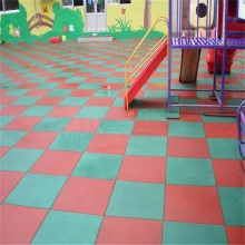 Anti-slip Rubber Playground Tiles
