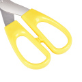 stainless steel school scissors plastic safe office scissors