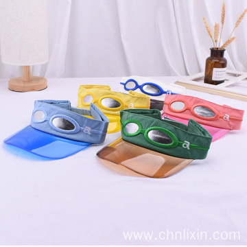 Premium headband with sunglasses transparent baby visor caps
