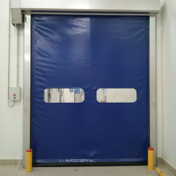 Industry Fabric Curtain Self Repair High Speed Door