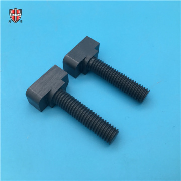 wearable insulating silicon nitride ceramic bolt screw