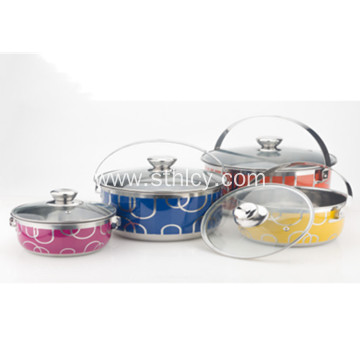 Stainless Steel Pot Cookware Set Wholesale