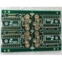 4 layer FR4, Green Solder ENIG PCB