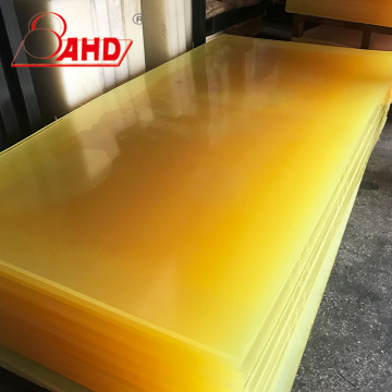Hardness 90A PU Date sheet PU Plastic Sheet