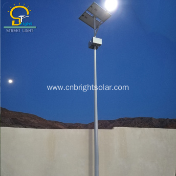 10M 120W Solar Street Light High Brightness