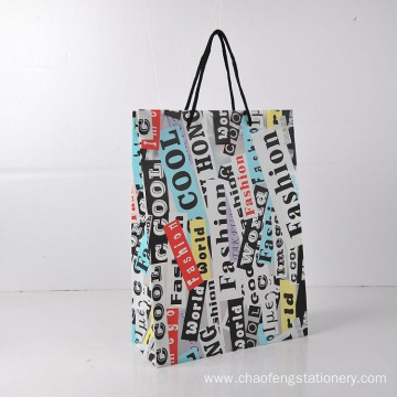 Promotional pp carry bag gift bag