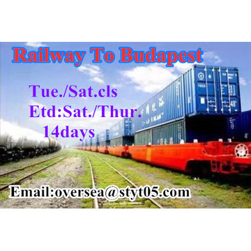 Railway Transportation To Budapest