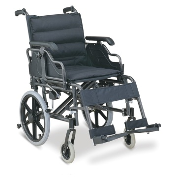 Medical Soft Foldable Aluminum Wheelchair For Patients