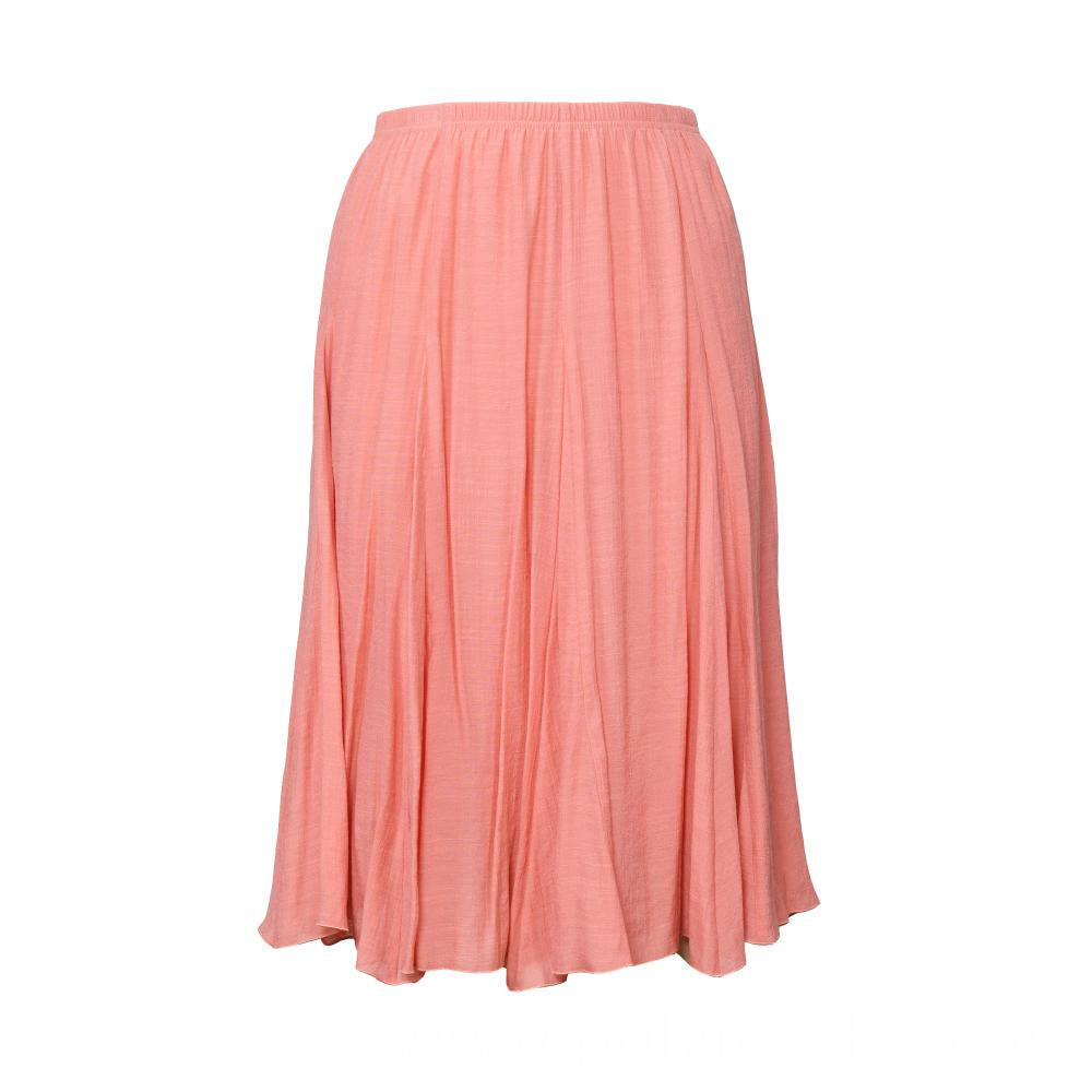 Vintage Maxi Skirts Women Solid Boho