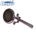 Round gas burner for water heaters