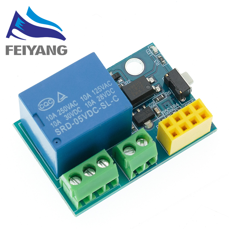 10PCS ESP8266 5V WiFi relay module Things smart home remote control switch phone APP ESP-01
