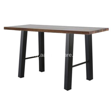 Black Industry Iron Bench Coffee Table Legs