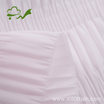 Pleat Shirring Casket Lining Fabric For Coffin