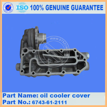 PC200-8 core oil cooler 6754-61-2110 for Komatsu excavator