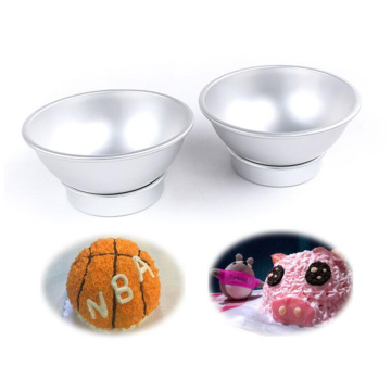 3D Aluminium Alloy Ball Sphere Cake Baking Mold