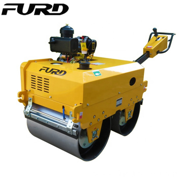 New CVT Speed Manual Tandem Road Roller With 550kg Weight
