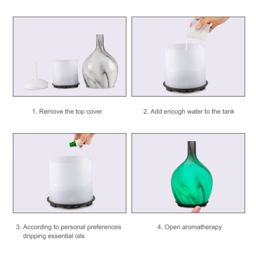 Portable Essential Oil Ultrasonic Mist Humidifier