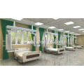 Anesthesia Pendant mechanical brakes icu room