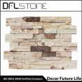 Natural Rough Face Ledgerstone Systems for Outside Wall