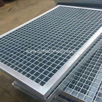 Heavy Duty Galvanized Steel Grating Drainage Trench Cover