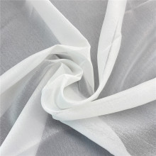 Wholesale White Translucent Organza Tulle Fabric for Wedding