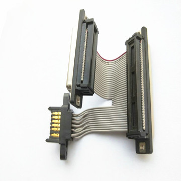 Flexible JAE Connector IDC Ribbon Flat Cable Assemblies
