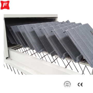 Archaized Colored Roofing Stone Coated Roof Tile Machine
