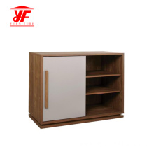 Two Color Small Corner Tv Storage Unit
