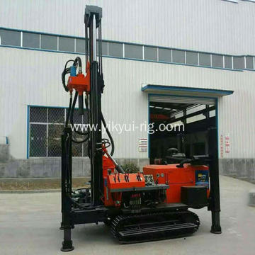 180m Crawler Hydraulic Waterwell Drilling Rig