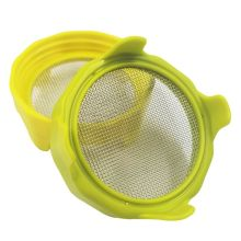 Plastic Sprouting Lid Stainless Steel Screen for Wide Mouth Mason Sprout Jars Home Gardening Supplies
