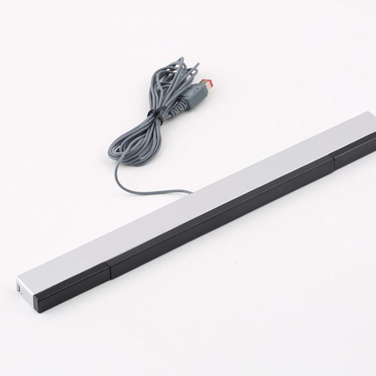 Wired Infrared IR Signal Ray Sensor Bar/ Receiver Wired Sensors Receivers Gamepads For NS For Wii Remote