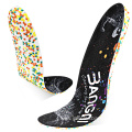 Light shock absorbing sports running shoe insole